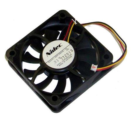 Nidec U60R12MGAB-53 Epson EMP-X5 Power Supply Fan 12VDC 0.17A 3-Wire Thumbnail 1