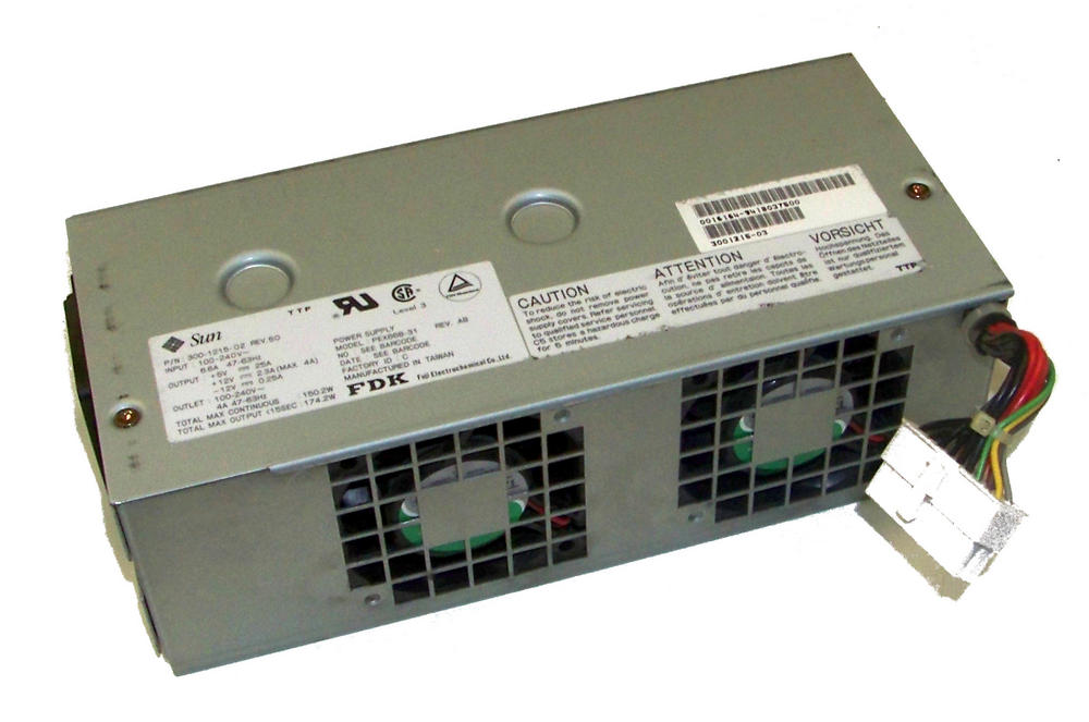 Sun 300-1215-02 SPARC station 20 150W Power Supply | PEX668-31