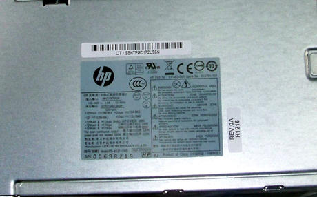 HP 611483-001 8300 Elite CMT 320W Power Supply | SPS 613764-001 PS-4321-1HB RoHS Thumbnail 2