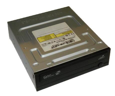 TSST SH-S222L/BEBE SH-S222 Half Height ATA/IDE DVD Recorder Drive | Black Bezel Thumbnail 1