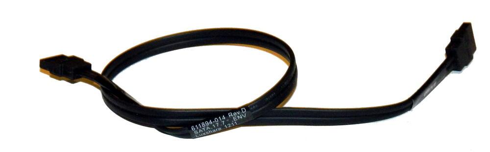 HP 611894-014 Elite 8300 CMT Black 41cm SATA Straight to Straight Cable