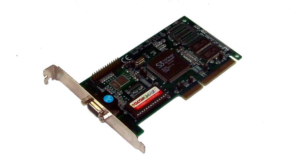 ColorMax ST-362A Rev 3.2 2MB S3 Trio AGP Graphics Card | VGA
