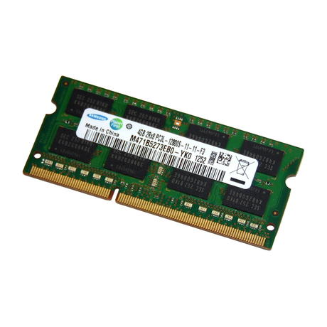 Samsung M471B5273EB0-YK0 4GB DDR3 PC3L-12800S 1600MHz 204-pin SODIMM RAM