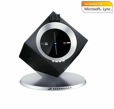 Sennheiser DW 10 HS Wireless Headset With Base Station DW BS ML - EU  Thumbnail 2