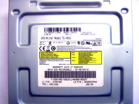 Lenovo 41R0195 Thinkcentre 9702 SATA CD-RW DVD+R DL Drive | FRU 43C1042  Thumbnail 2