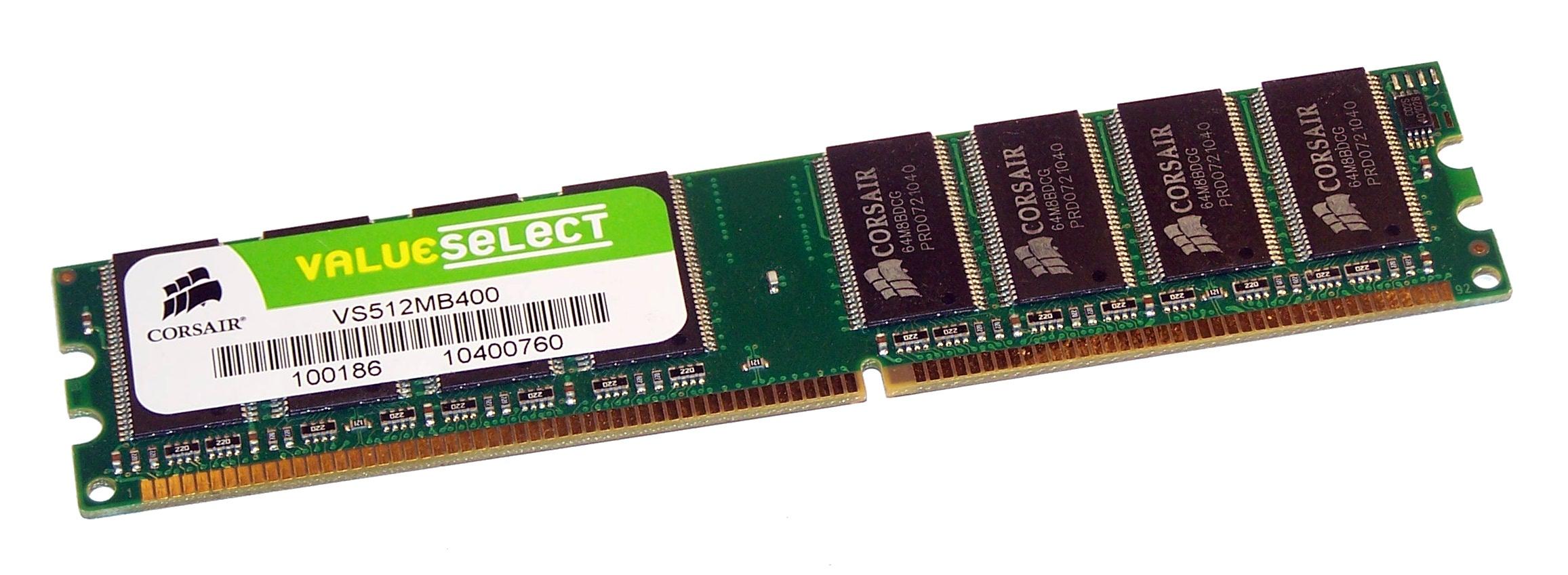 512MB DDR MEMORY RAM PC3200 NON-ECC DIMM 184-PIN 400MHZ