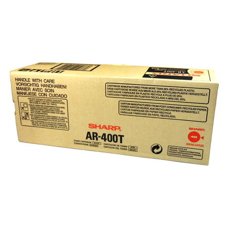 Sharp AR-400T Black Toner Cartridge | Genuine