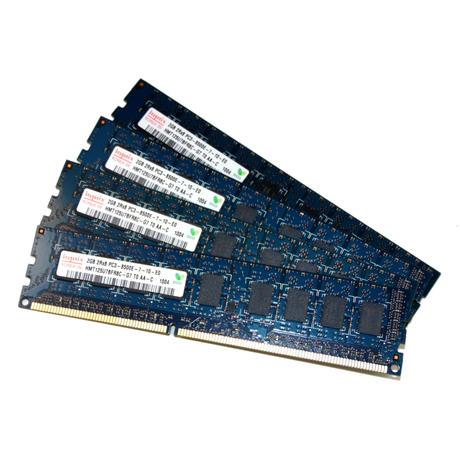 4 x Hynix HMT125U7BFR8C-G7 T0 AA-C (2GB PC3-8500E CL7 ECC Server 240-Pin DIMM) M