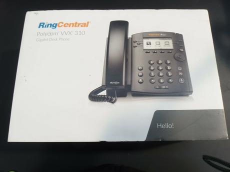 Polycom VVX 310 VoIP Phone 2201-46161-001
