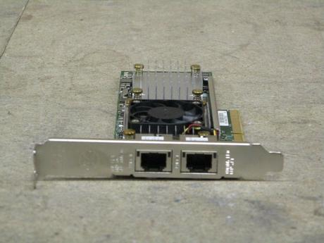 DELL W1GCR Qlogic BMC 57810 10-Gigabit 2-Port PCIe Network Interface Card Thumbnail 2