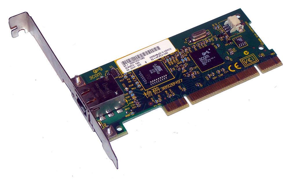 3Com 03-0247-200 3C905CX-TXM PCI 32-Bit 1-Port 10/100 Ethernet Card RJ45