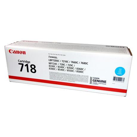 Genuine Canon 2661B002[AA] i-SENSYS Cyan Toner   Cartridge 718