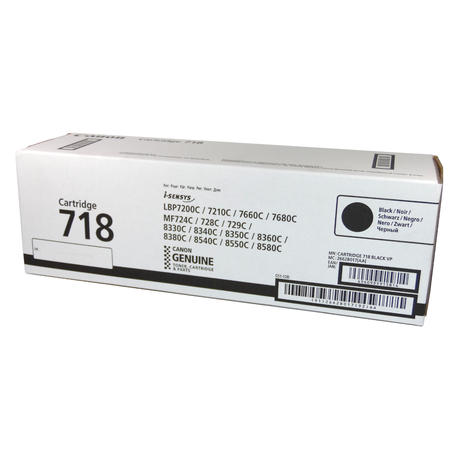 Genuine Canon 2662B017[AA] i-SENSYS Black Toner | Cartridge 718
