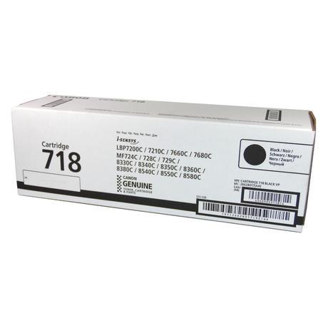 Genuine Canon 2662B017[AA] i-SENSYS Black Toner | Cartridge 718