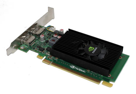 HP 678929-002 NVIDIA NVS 310 512MB Display Port PCIe x16 Graphics Card