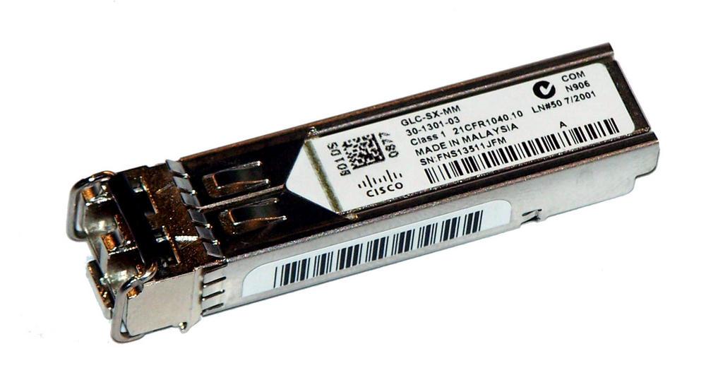Cisco 30-1301-03 1000BASE-SX SFP 850nm GBIC GLC-SX-MM= Transceiver