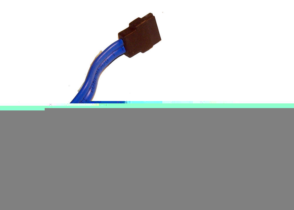 Dell U5959 OptiPlex 320 745 755 DCNE Blue 20cm SATA Straight to Angled Cable
