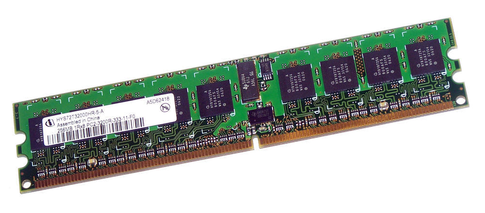Infineon HYS72T32000HR-5-A (256MB PC2-3200R Cache DIMM) for PE2850 RX600S3 C600