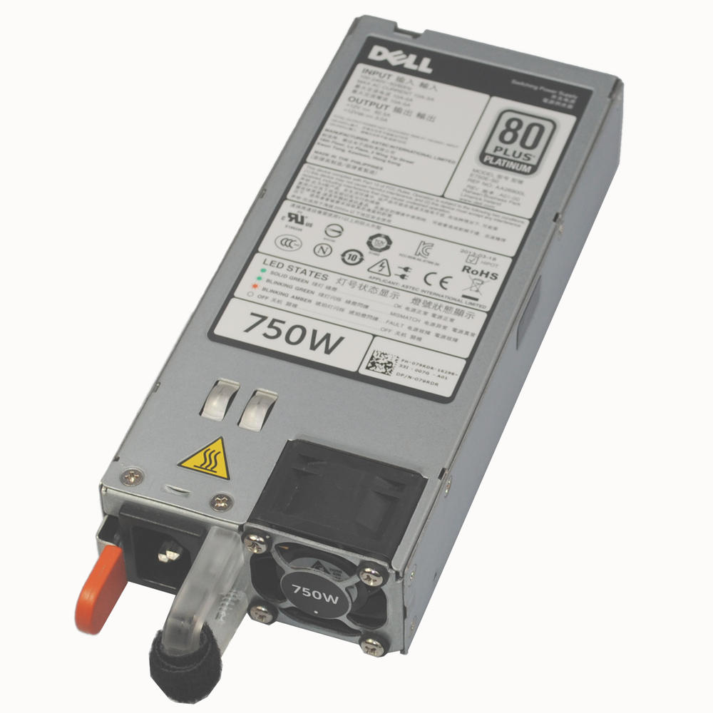 Dell 79RDR 750W for PowerEdge R520 R720 Power Supply