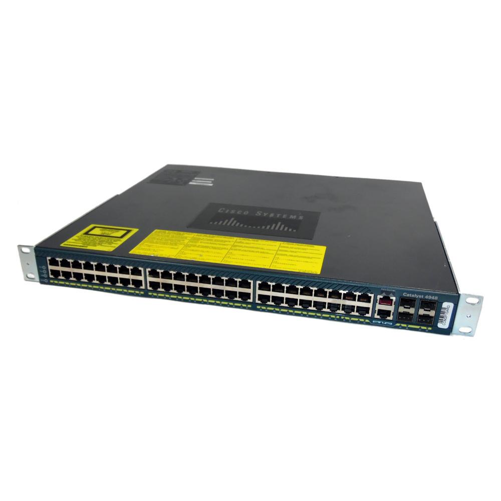 Cisco WS-C4948-S V06 Catalyst 48-Port Gigabit + 4 SFP Port Switch