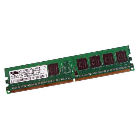 ProMOS V916764K24QAFW-E4 (512MB DDR2 PC2-4200U 533MHz DIMM 240-pin) Memory