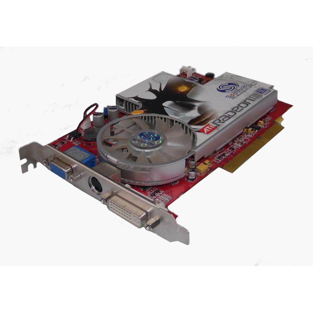 Sapphire 11076-02 ATi Radeon X1600 Pro 512MB PCIe X16 Graphics Card DDR2
