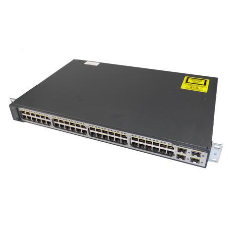 Cisco WS-C3750V2-48TS-S V04 Catalyst 3750 v2 Series 1U Ethernet Switch