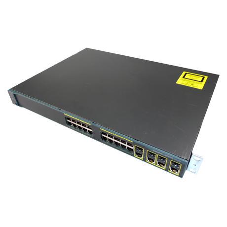 Cisco WS-C2960G-24TC-L 24 Port 1U Managed Switch With Ears