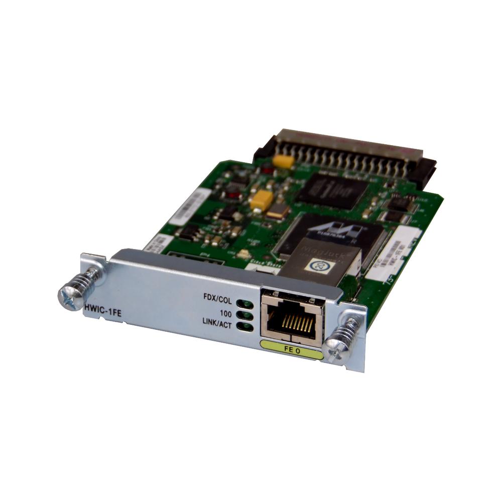 Cisco HWIC-1FE 1 Port Fast Ethernet High-Speed WAN interface card 73-10676-02