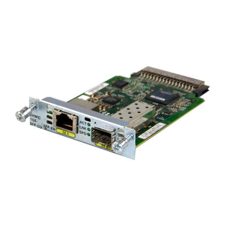 Cisco EHWIC-1GE-SFP-CU Gigabit Ethernet Dual-Identity High-Speed Module 73-13295