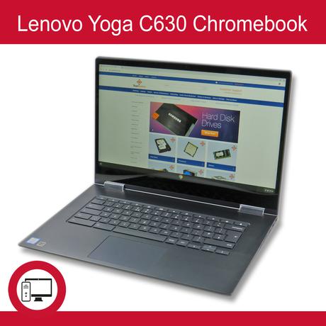 "Lenovo Yoga C630 15.6""  2 in 1 Chromebook |Intel  i5-8250u 1.6GHz | 8GB | 128GB"