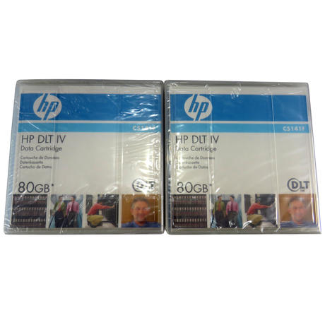 HP C5141-85701 DLT IV 80GB Data Cartridge 2 Pack | C5141F