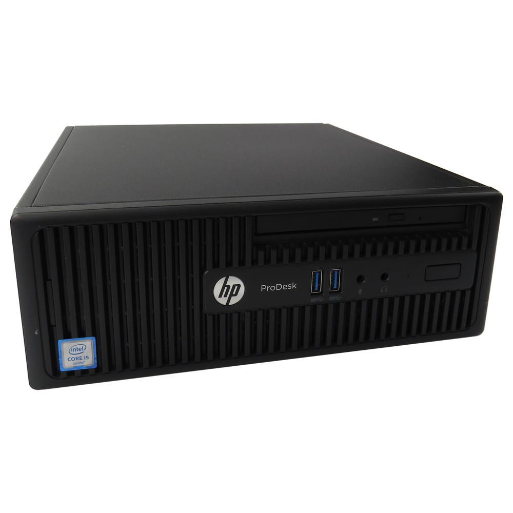 HP ProDesk 400 G3 SFF  Intel i5 6500 @3.20GHz   8GB   256GB  No OS   B-