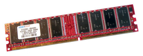 Dane-Elec D1D333-064325I (256MB DDR PC2700 333MHz DIMM 184-pin) Memory