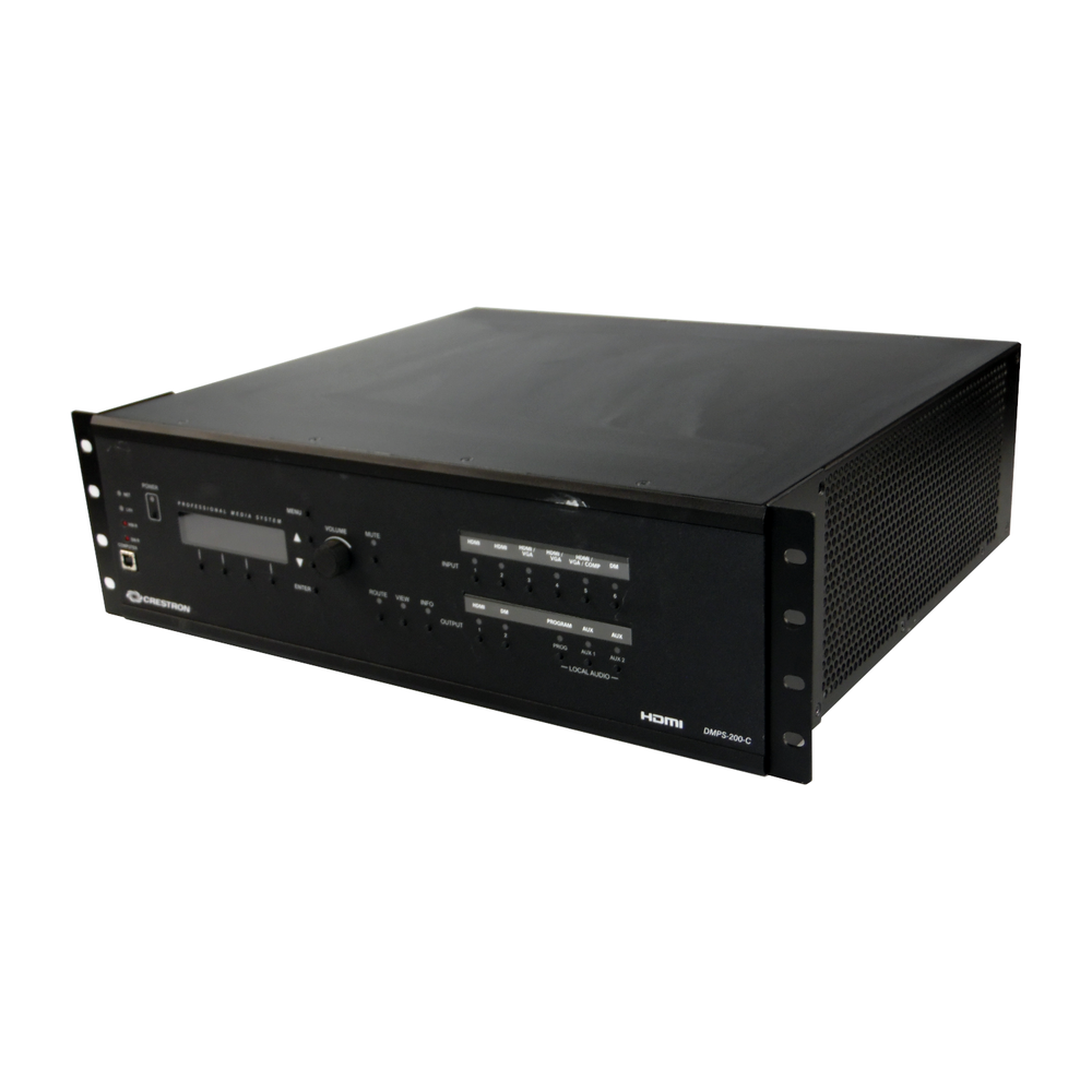 Crestron DMPS-200-C Digital Media Presentation System