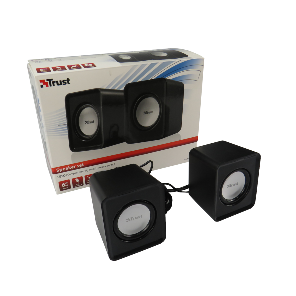 Trust Leto 6W USB 2.0 Speakers