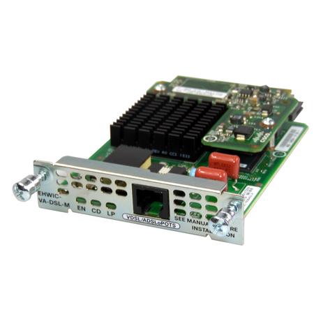 Cisco EHWIC-VA-DSL-M Multi Mode 1-Port VDSL2/ADSL/2/2+ Interface Card