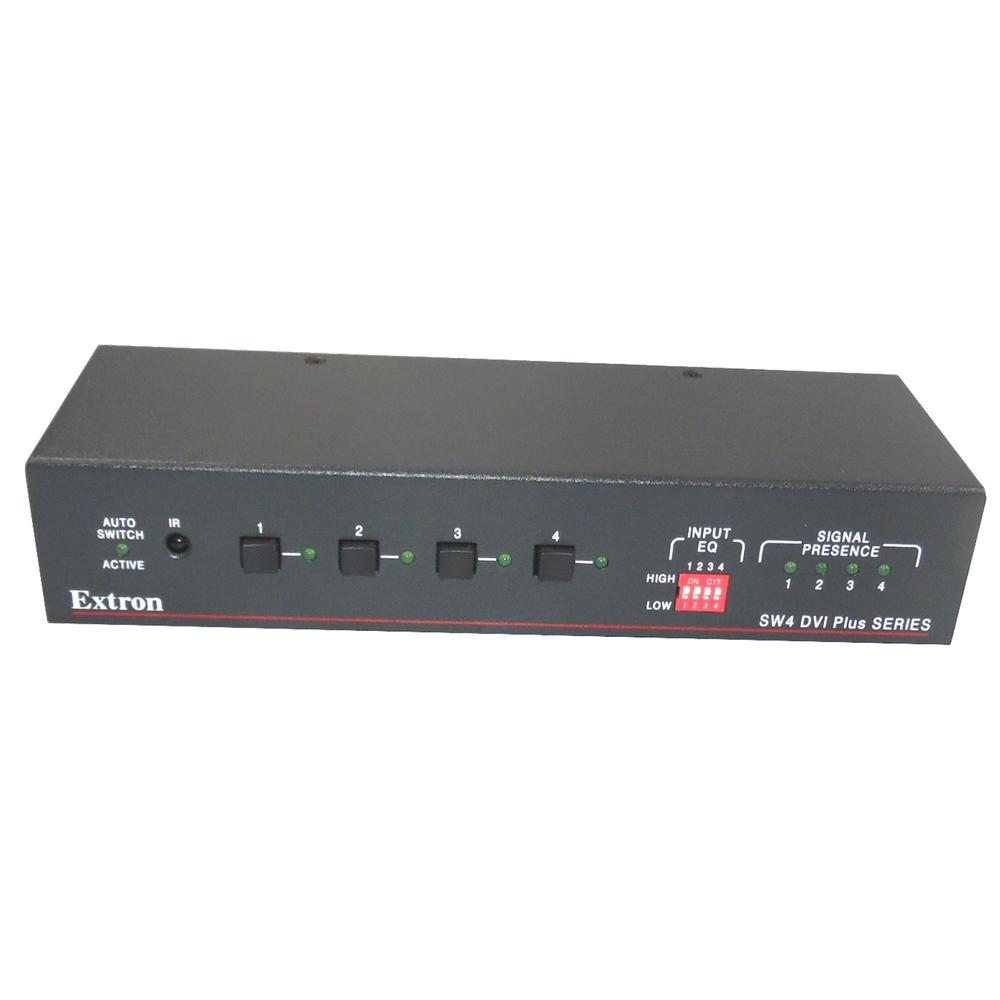 Extron SW4 DVI Plus Series Switcher Hub 4 Input Switcher