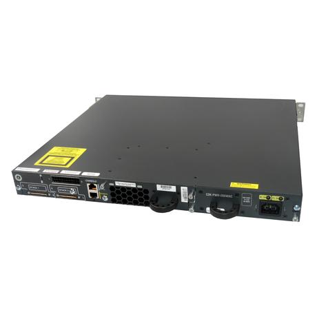 Cisco WS-C3750E-48TD-S 48 Port Gigabit 1U Managed Switch With Ears Thumbnail 2