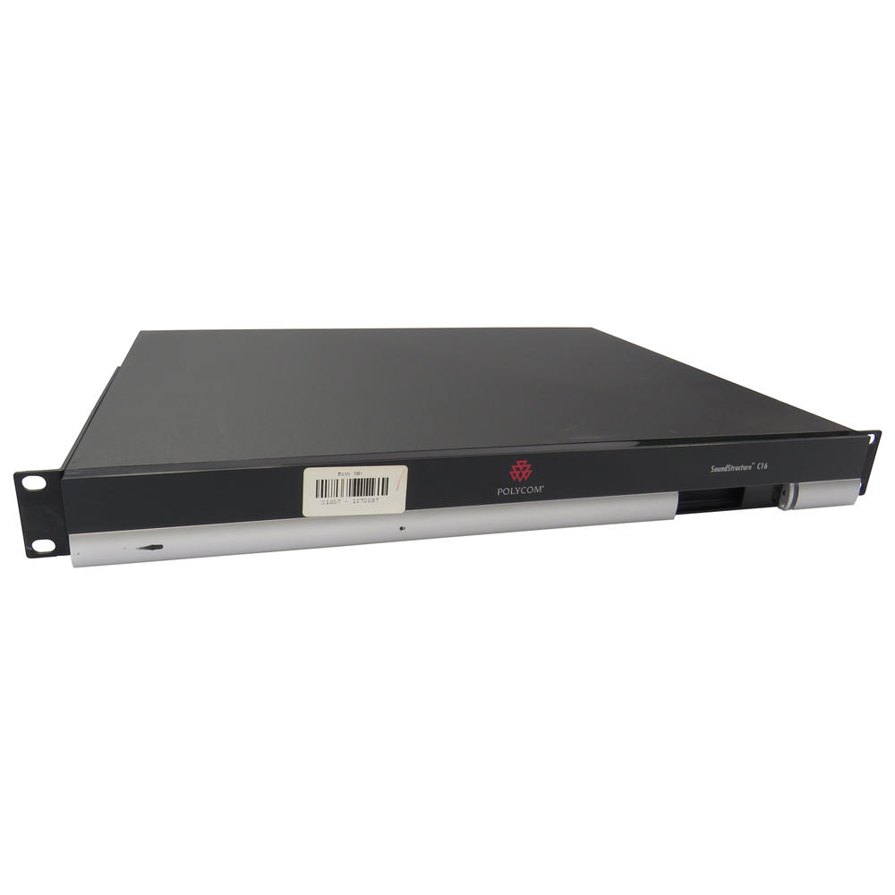 Polycom SoundStructure C16 C-Series Audio Conference System B-