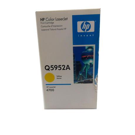 New In Box HP Q5952A 634A Original LaserJet 4700 Toner Cartridge, Yellow Jaune