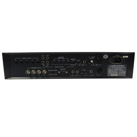 Audio Technica ATCS-C60 75W Rack Mount Master Control Unit Thumbnail 2