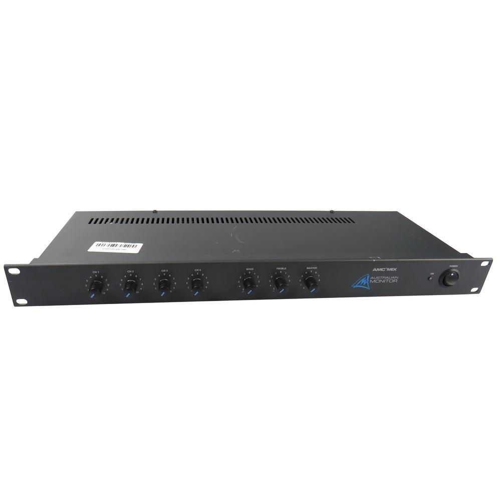 Australian Monitor AMC+ Mix 4x Channel Mixing Unit Phantom Power - No AC Adaptor