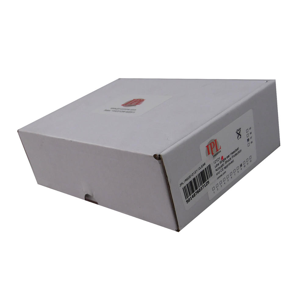 New In Box JPL HW251N Supra Plus Wideband Monaural Headset 36832-41