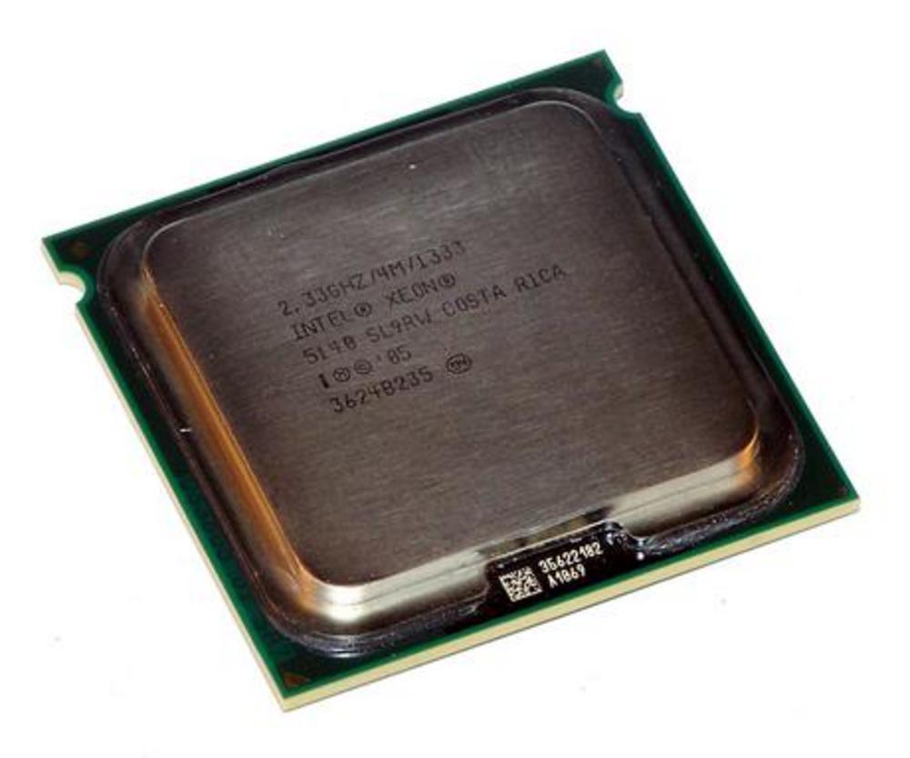 Intel HH80556KJ0534M Xeon Dual Core 5140 2.33GHz Socket J LGA771 Processor SL9RW