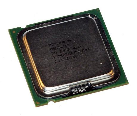 Intel HH80547PG0801MM 3.0GHz Pentium 4 531 Socket T LGA775 Processor SL9CB