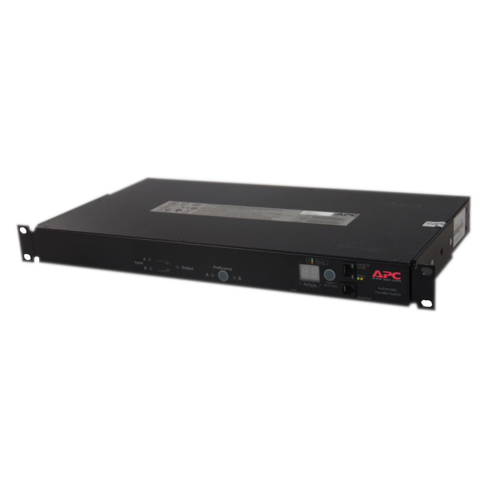APC AP7721 Automatic Power Feed Transfer Switch With Ears