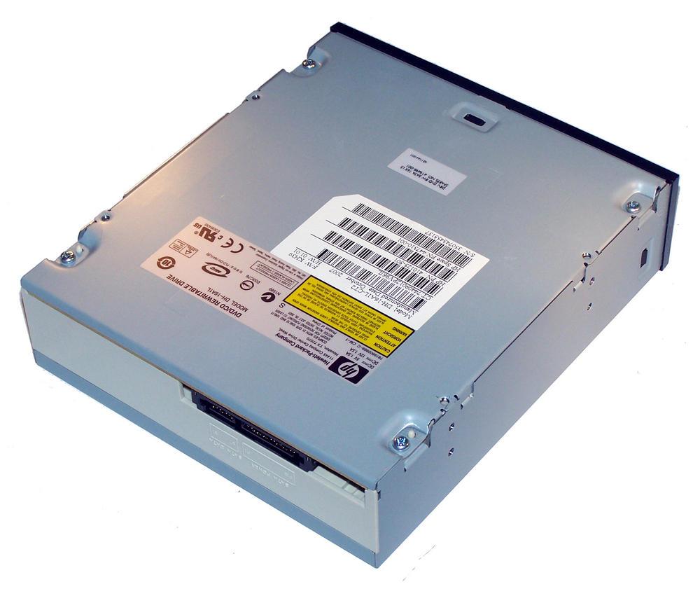 HP 410125-501 Black Bezel SATA H/H DVD-RW D/L Drive DH-16A1L | SPS 447310-001 Thumbnail 2