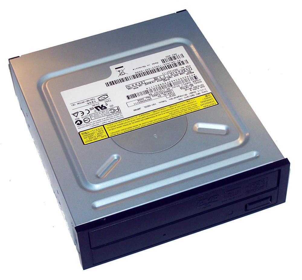 Dell KJ920 ATA H/H DVD-RW Drive with Black Bezel | Model ND-3750A 0KJ920 Thumbnail 1