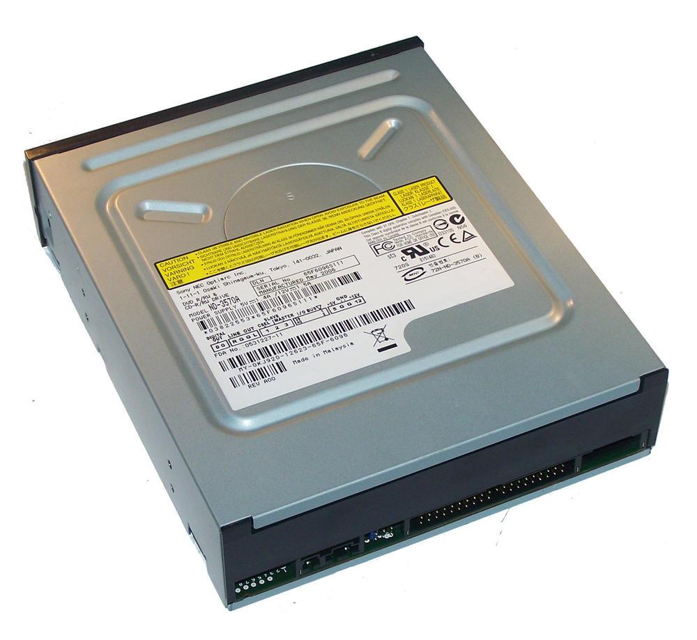 Dell KJ920 ATA H/H DVD-RW Drive with Black Bezel | Model ND-3750A 0KJ920 Thumbnail 2